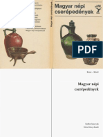 Kresz Mária - Magyar népi cserépedények (OCR)