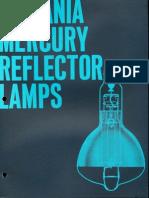 Sylvania Mercury Reflector Lamps Brochure 1963