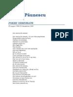 Adrian Paunescu-Poezii Cenzurate