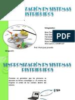 Sincronización en Sistemas Distribuidos