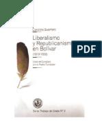Liberalismo y republicanismo en Bolívar - Carolina Guerrero