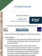 Finance_05 Toll Road Financing - 29 Jan 07