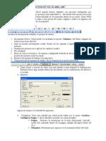 Bases Para Manejar Excel 2003 y 2007