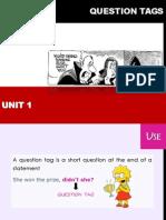 Question Tag Presentation