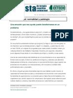 Ansiedad Social Normalidad y Patologia
