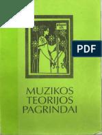 Siauliu Universitetas - Muzikos Teorijos Pagrindai