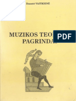 Danute Vaitkiene - Muzikos Teorijos Pagrindai