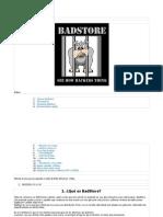 Introducción a BadStore