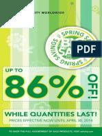 Spring Sales Flyer Canada