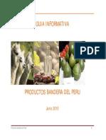 GUIA INFORMATIVA PRODUCTOS BANDERA DEL PERÚ.