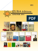 Catalogue Izuba