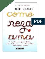 Come reza ama – Elizabeth Gilbert