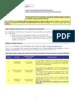Instrucciones registro solicitudes renovación AACC 2014