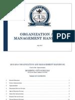Org Handbook