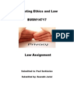 pipeda Law Assignment