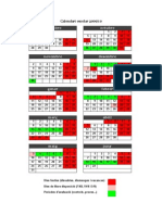 Calendari escolar 2009.