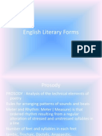 English Literary Forms 2
