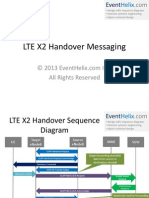 LTE X2 Handover Messaging