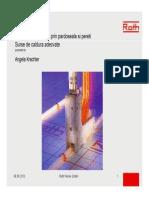 1. Sisteme de Incalzire Prin Pardoseala Si Pereti, Surse de Caldura Adecvate RO