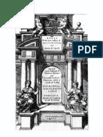 1593 Iacome de Vignola. Regla de Las Cinco Ordenes