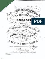 Op 159, Rossini's La Cenerentola, Ch Fl Vln