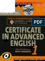 142094010 Cambridge Certificate in Advanced English 1