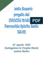 2008 Libretto Rosario Per Cenacoli Mariani 05 08