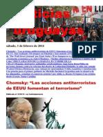 Noticias Uruguayas sábado 1 de febrero del 2014