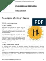 Negociación efectiva en 6 pasos _ Negociación, Comunicación y Cobranzas