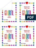 Valentine's Day Cards to Coordinate With Crayon Hearts