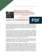 POÉTICA DE LOS HS KARAMAZOV