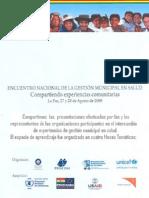 Encuentro Nacional de la Gestión Municipal en Salud