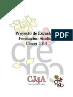 Programa Escuelaformacionsindical