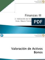 2- Valoración de Activos - Bonos