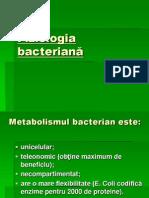 Curs III Fiziologia bacteriană