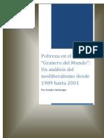 """Pobreza en el """"Granero del Mundo"""" Un análisis del neoliberalismo desde 1989 hasta 2001.pdf"""