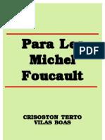 Para Ler Foucault - Vilas Boas
