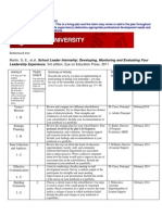 Warren - Draft Internship Plan