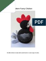 Pattern Funny Chicken