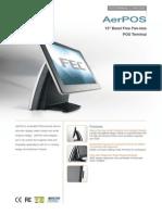 Pos Touch Screen-AerPOSLite-ταμειακό σύστημα