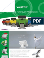 Pos Touch Screen-VariPOS-Point of sales-ταμειακό σύστημα