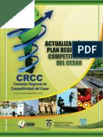 Actualizacion Del Plan Regional de Competitividad Del Cesar 2