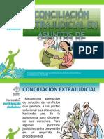 Conciliacion Estrajudicial en Asuntos Familia