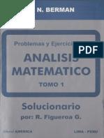 Problemas y ejercicios de Análisis Matemático Tomo 1 - FL