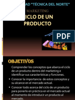Ciclo de Un Producto Diapositivas (Marketing)