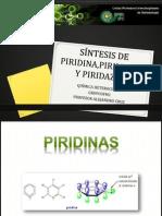 SÍNTESIS DE PIRIDINA,PIRIMIDINA Y PIRIDAZINA