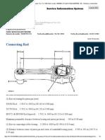 3306 Di Engine Especificaciones de Biela