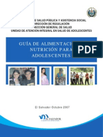 Guia Alimentacion Nutricion Adolesc