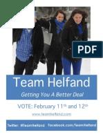 Team Helfand Official Platform