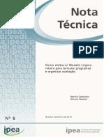 Nota Tecnica IPEA